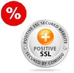 Сертификат Positive Wildcard SSL Certificates на 1 год